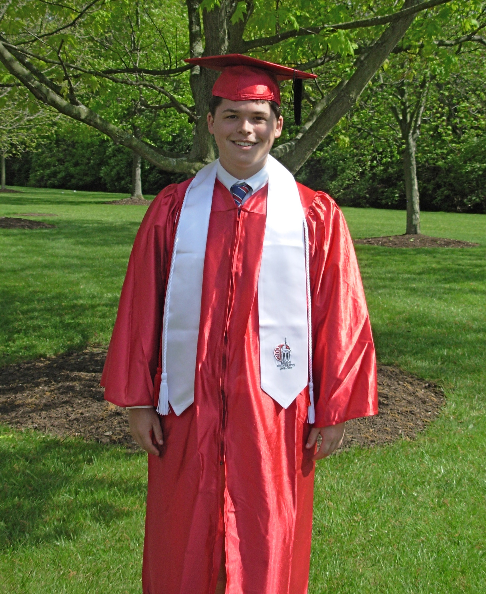 Andrew after graduation