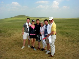 Family on the Grasslands