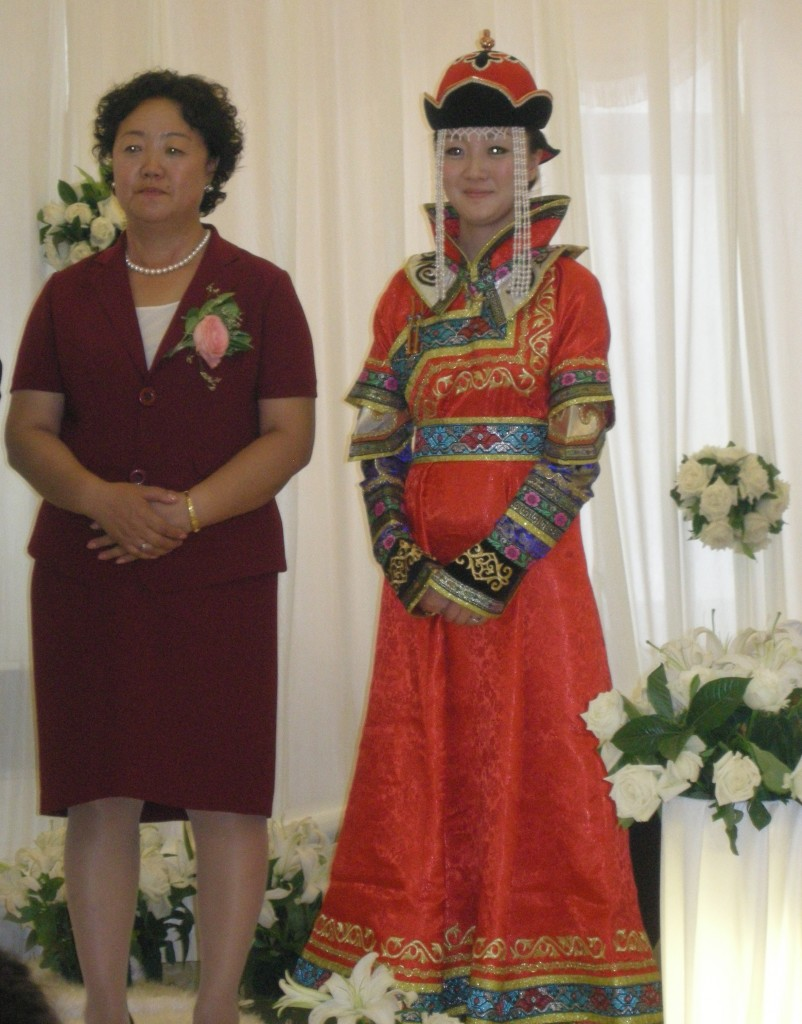 Jiao Jiao and her mother