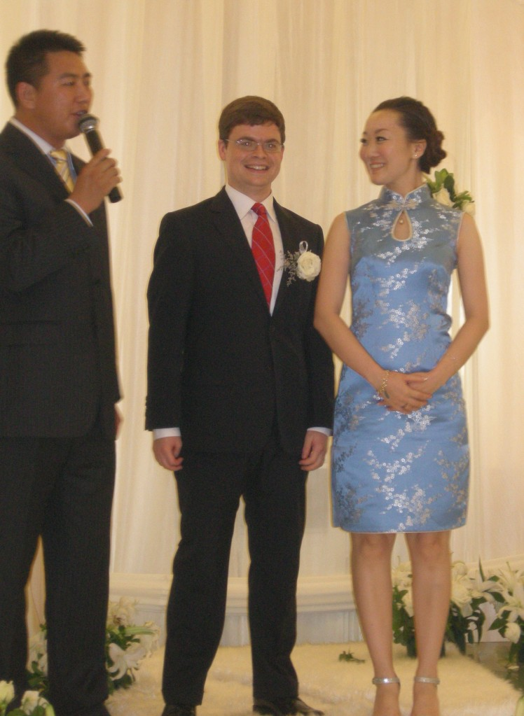 One of the few pictures from the Han phase of the wedding
