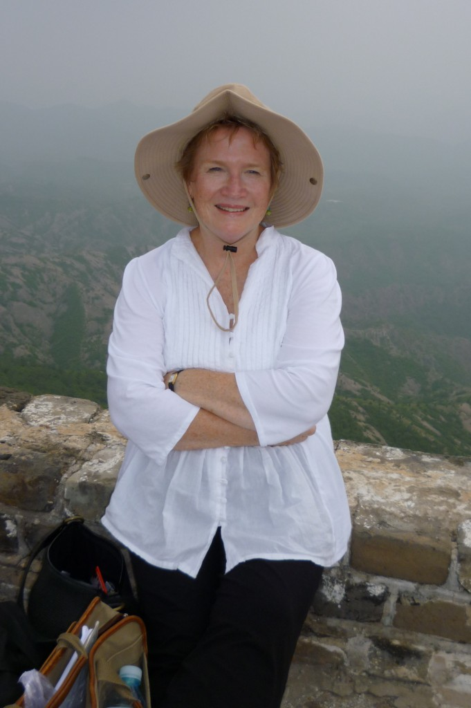 Anne on the Great Wall