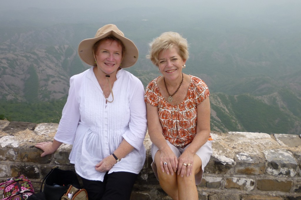 Anne and Cary on the Great Wall