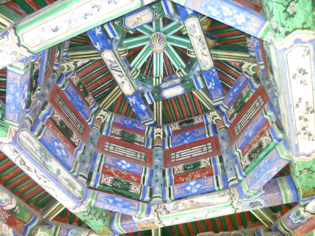 Cool ceiling at Summer Palace