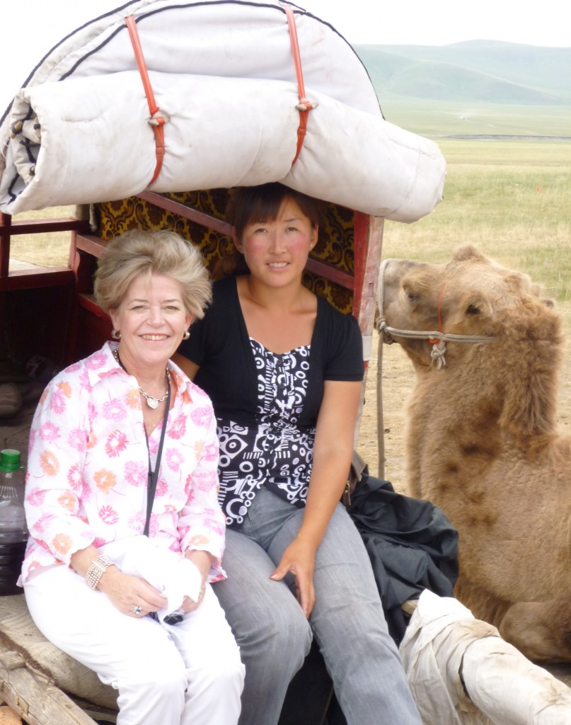 Cary, a Mongol and a camel