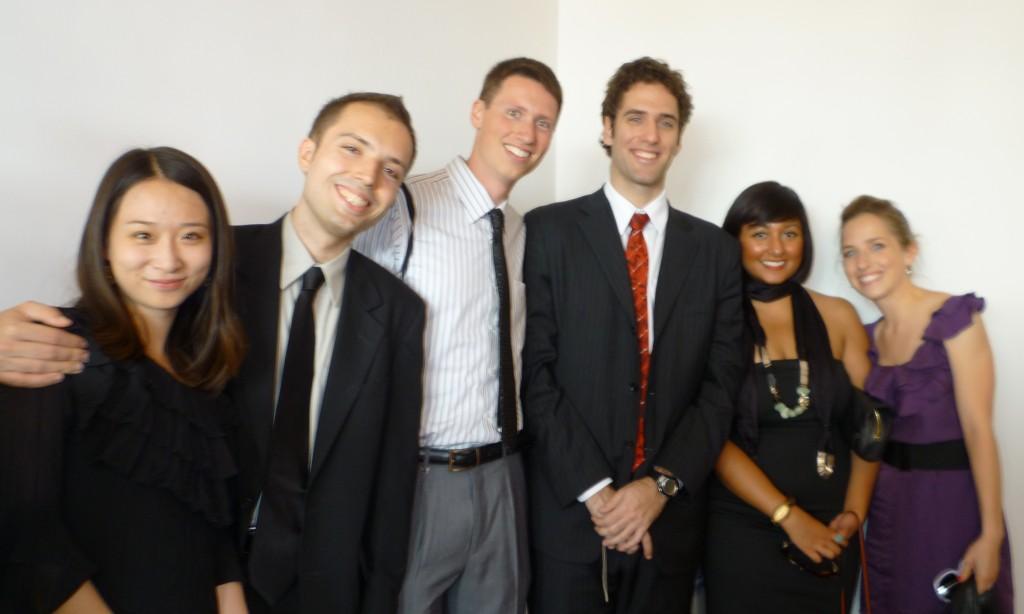 Chen, Mike, Adam, Christian, Melissa, and Deb