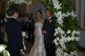 Jiao Jiao her father and Jimmy