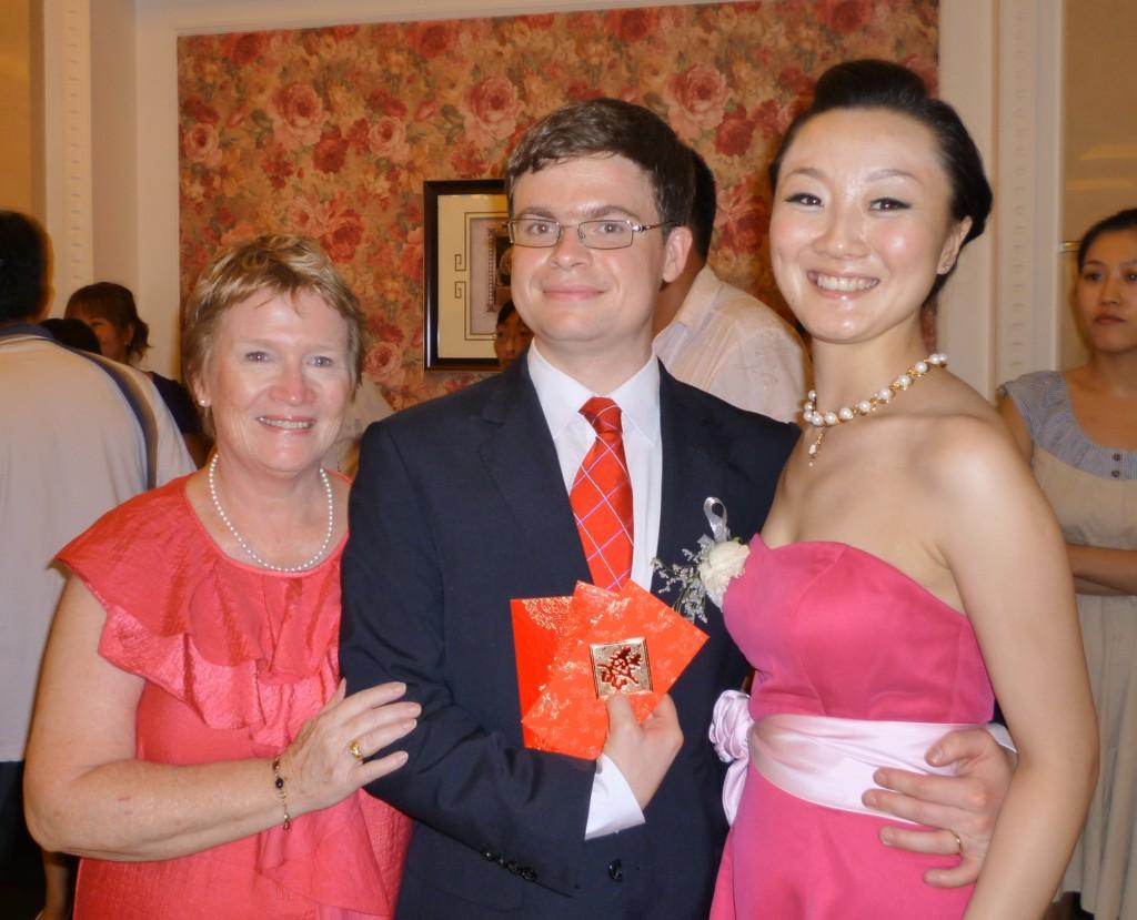 Anne, JImmy and Jiao Jiao