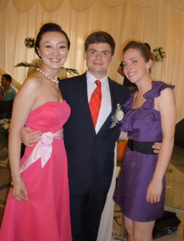 Jiao Jiao, Jimmy and Deb