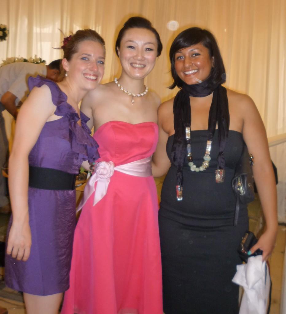 Deb, Jiao Jiao and Melissa