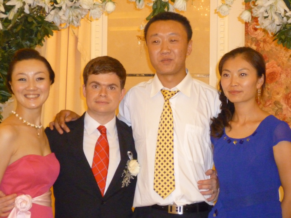 Jiao Jaio, Jimmy and Song Song with his girl friend