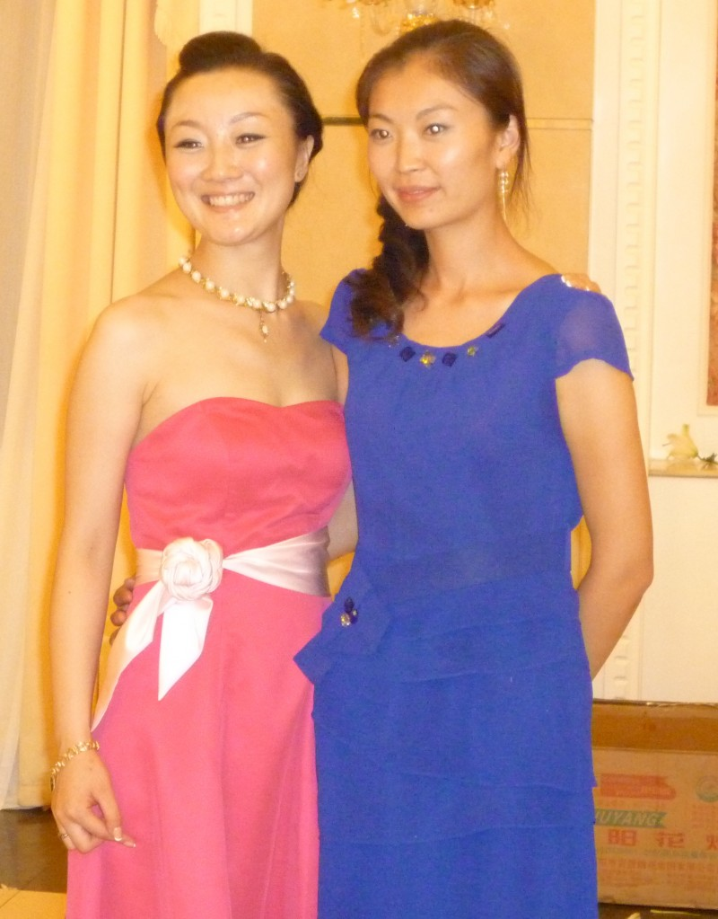 Jiao Jiao and Song Song's girl friend