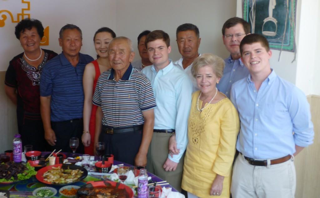 The Goodrich's and Jiao Jaio's elders