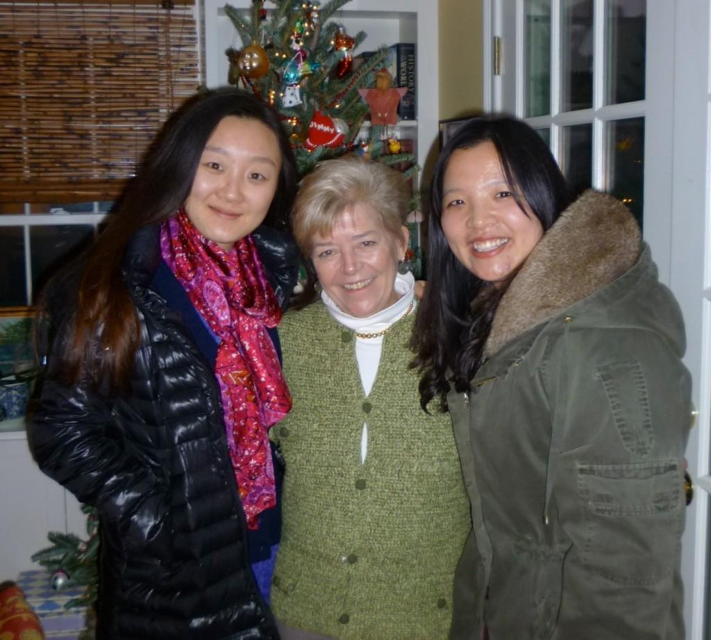 Jiao Jiao, Cary and Jiao Jiao's friend Xie Qiu