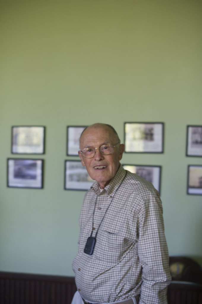 Dad at museum